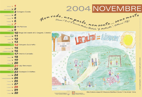 Calendario della memoria